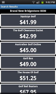 Golf Ball Bargains - screenshot thumbnail