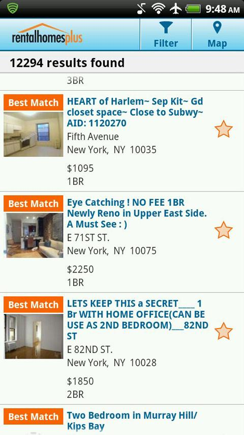 RentalHomesPlus.com - screenshot