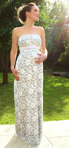 Popular Wedding Ring Suitable Maternity Wear For A Wedding While