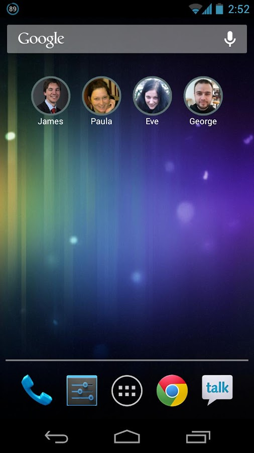 Stylish Contact Widget Free - screenshot