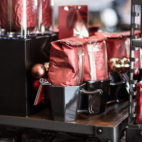 Coffee by Angela Nathaniel - Food & Drink Alcohol & Drinks ( #coffee #starbucks #coffeecups #holiday #holidaydisplay, coffee, pwc, pwccoffee )