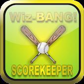 WizBang! Baseball Score Keeper
