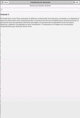 Constitución de Venezuela - screenshot