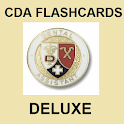 CDA Flashcards Deluxe