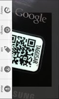Screenshot of Taggisar - Scan and edit QR's