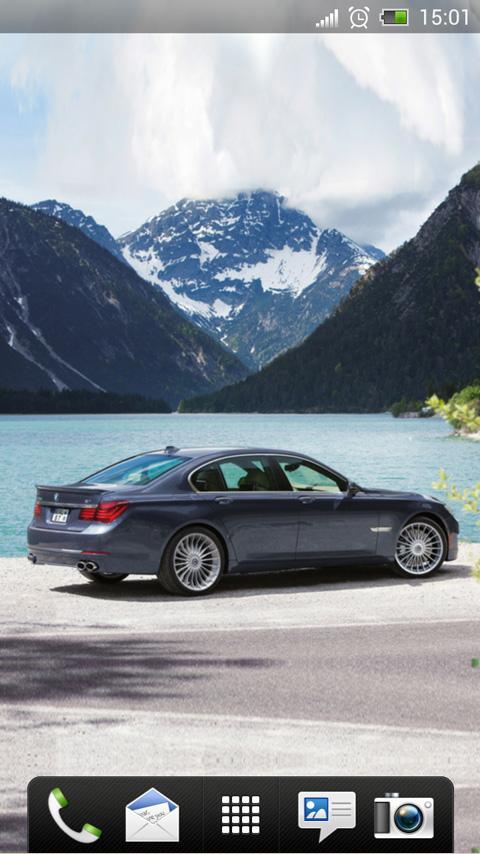 BMW Alpina B7 Live Wallpaper - screenshot