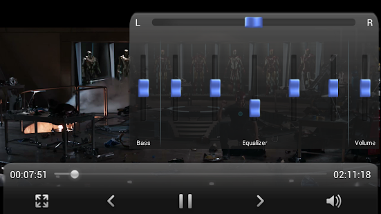 Equalizer Video Player - screenshot thumbnail