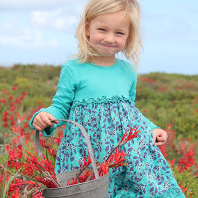 WILD FLOWER GARDEN by Naomi Pienaar - Babies & Children Child Portraits