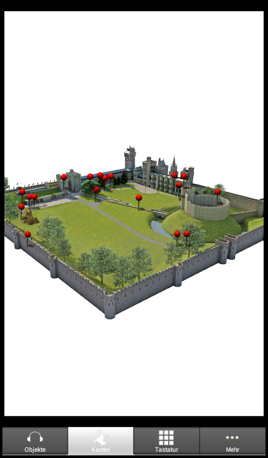 Cardiff Castle - Offizielle- screenshot