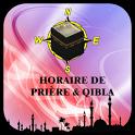 Horaire de Prière & Qibla icon