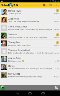 Tablet Talk: SMS & Texting App - screenshot thumbnail