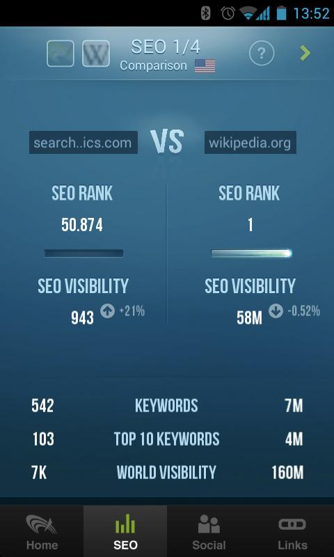 SEO & Link Analyzer- screenshot