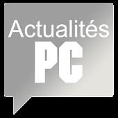 Actualités PC