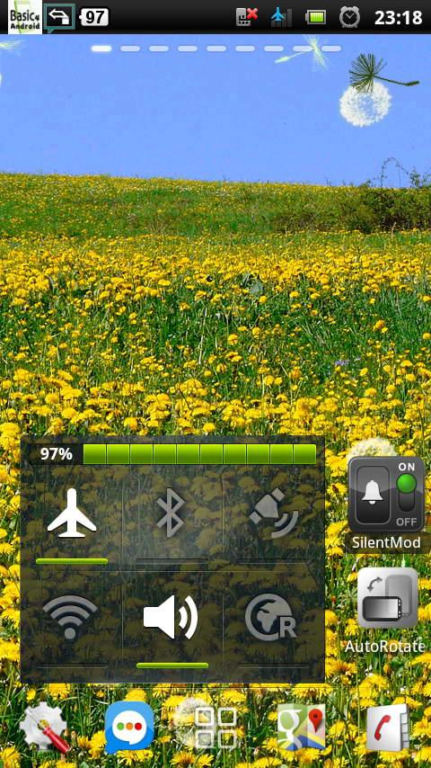 spring flower yellow dandelion- screenshot