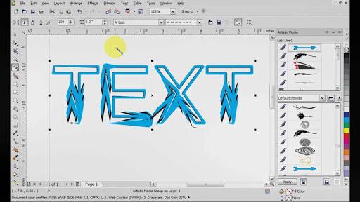 Corel Draw X7 video tutorials