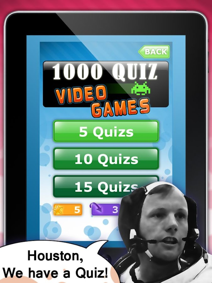 1000 Quiz Videogames- screenshot
