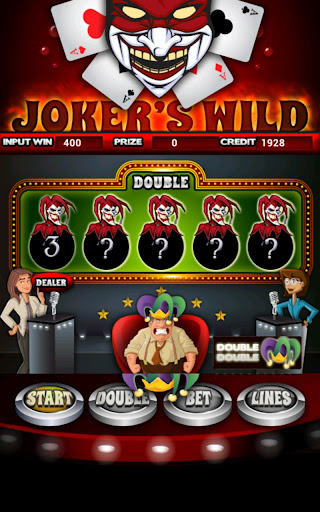 Jokers Wild Slot Machine HD Screen Capture 2