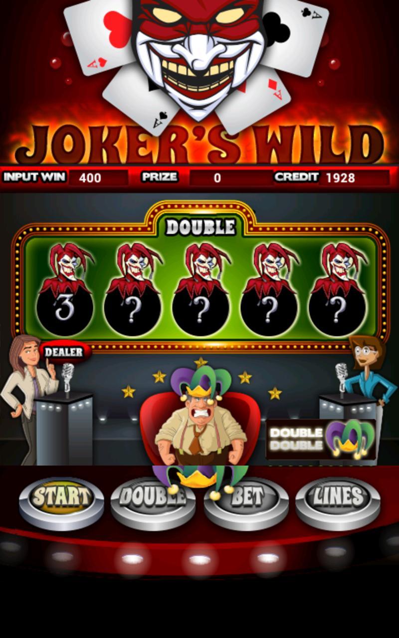 Jokers Wild Slot Machine HD screenshot #2