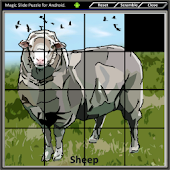 Magic Slide Puzzle D.Animals1