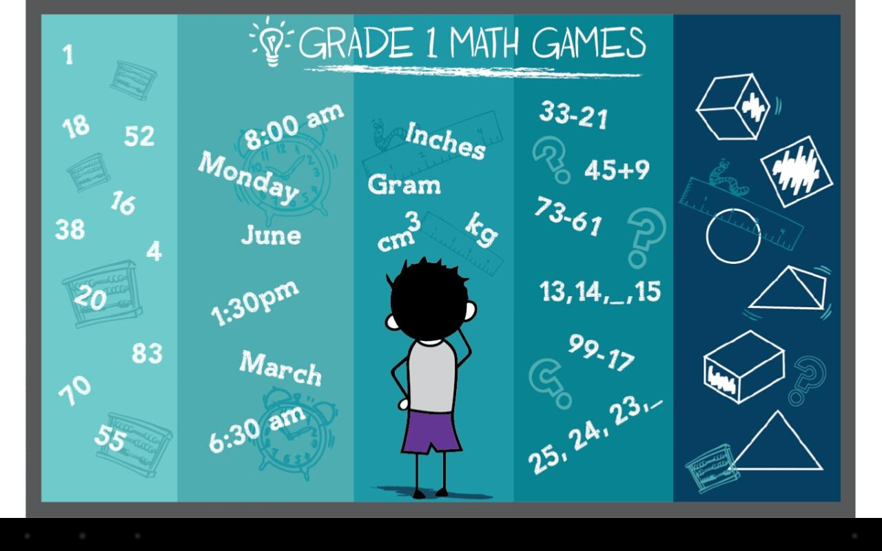 Grade 1 Math Games Free APK Latest Version Download - Free Education ...