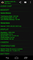 Screenshot of System Info Droid