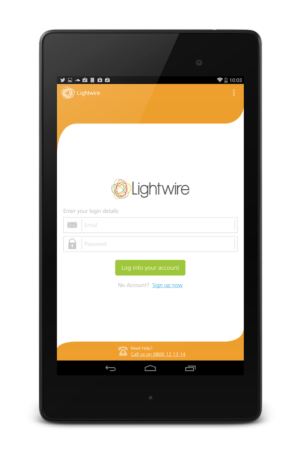 Lightwire BETA - screenshot