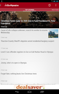 The Olympian- Olympia WA news - screenshot thumbnail