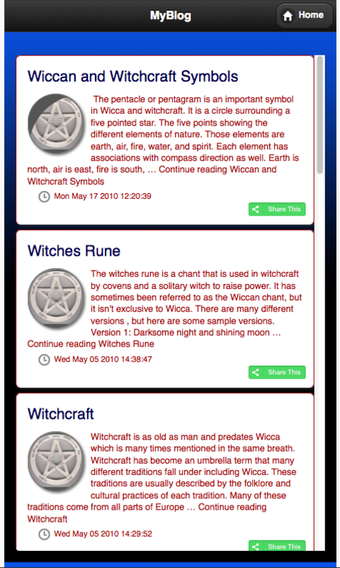 Wiccan Wicca Witchcraft- screenshot