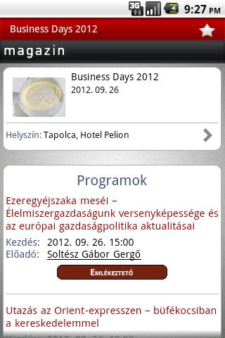 Trade Magazin Mobil - screenshot