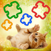 New Cat Family Puzzle for Kids
