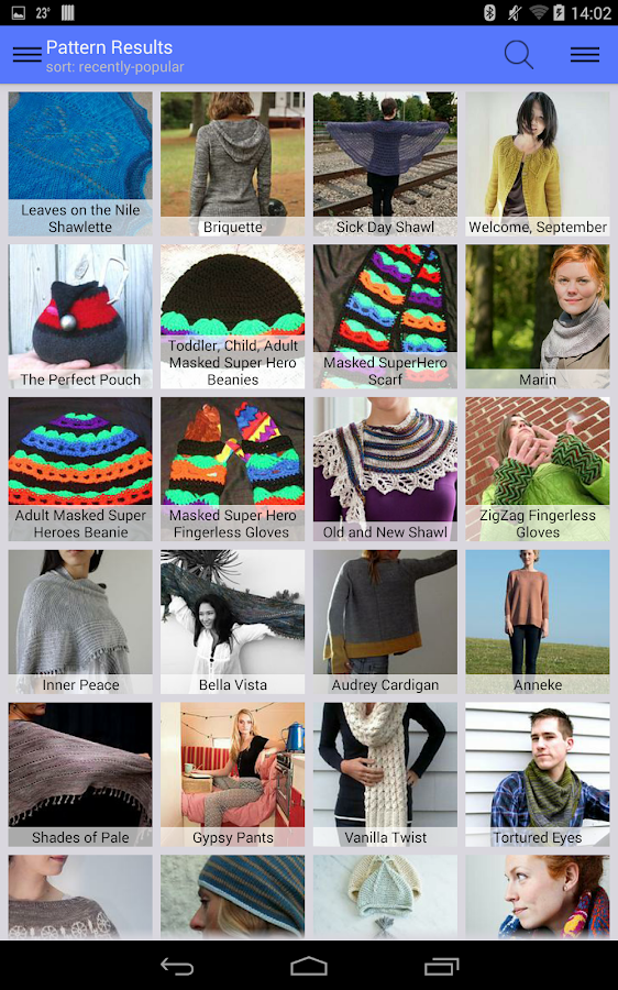 Stash2Go: Ravelry on the Go- screenshot