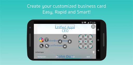Business card maker apps on google play reheart Image collections