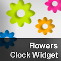 Flowers Clock Widget logo
