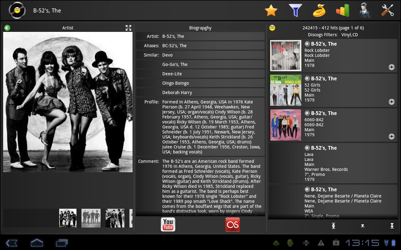 Discoid FT (For Tablets) - screenshot