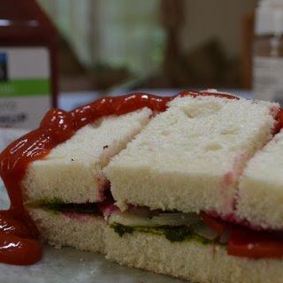 Vegetable & Chutney Sandwich