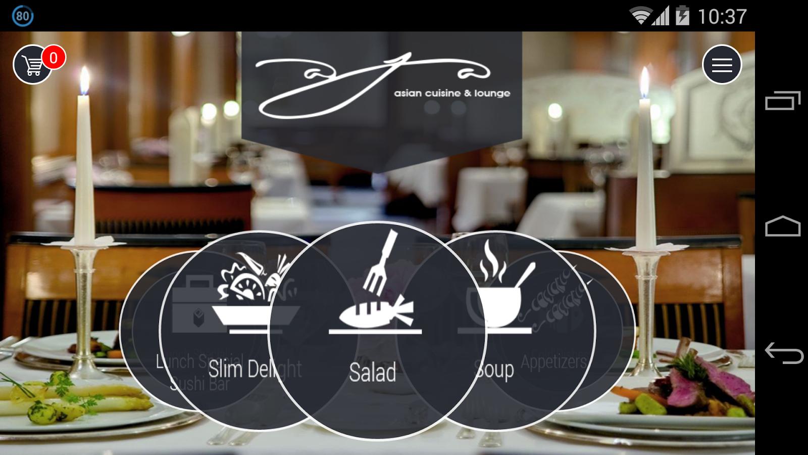 Aja asian cuisine android apps on google play for Aja asian cuisine