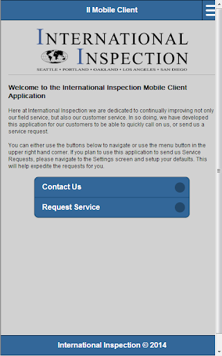 International Inspection