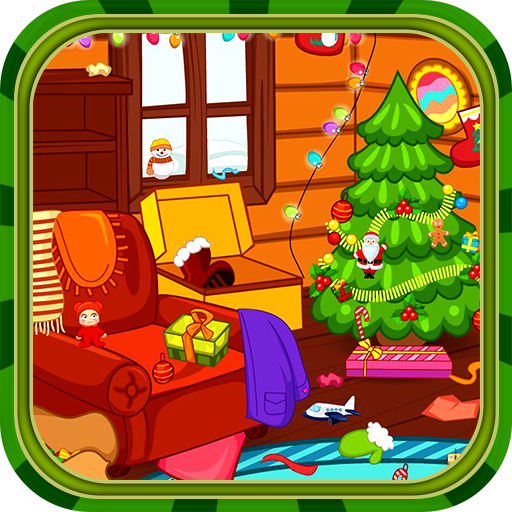 Clean up for santa claus Icon