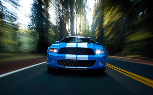 Highway Racing Car wallpaper