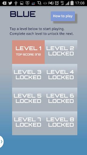 【免費解謎App】BLUE - Color 2048 Puzzle Game-APP點子