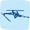 Biathlon sports icon