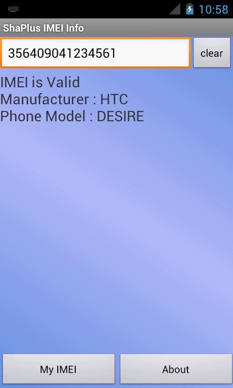 ShaPlus IMEI Info- screenshot