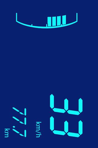 無料交通运输Appのデジタルスピードメーター:Digivel 記事Game
