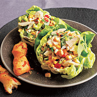Crab and Grilled Corn Salad