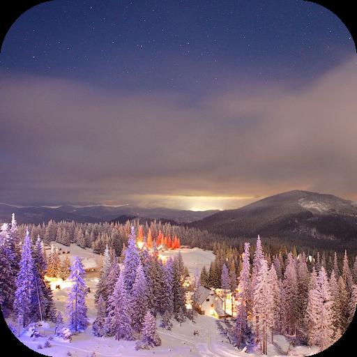 Winter Nature Live Wallpaper 個人化 App LOGO-硬是要APP