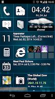 Screenshot of Home8 like Windows8 launcher