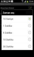 Screenshot of Mesaj Uyarıcısı -SMS uyarıcısı