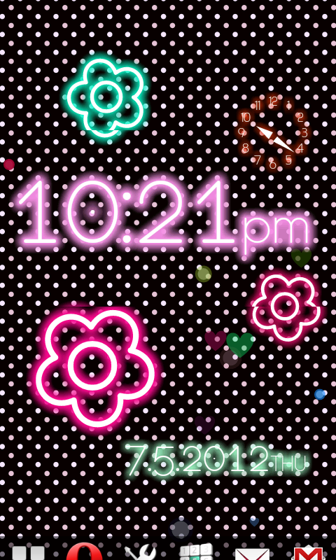 Neon Flow! Live Wallpaper- screenshot