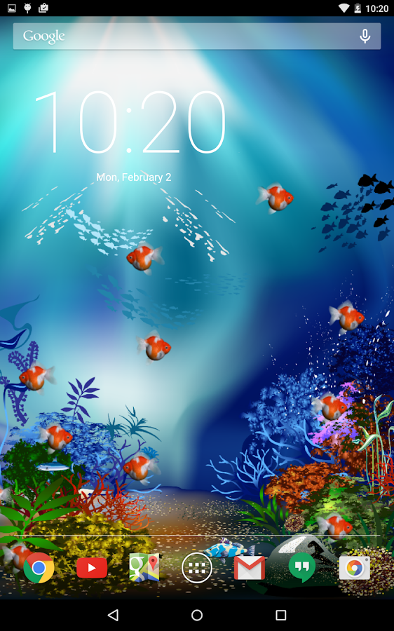 Aquarium fish live wallpaper android apps on google play for Fishing apps for android
