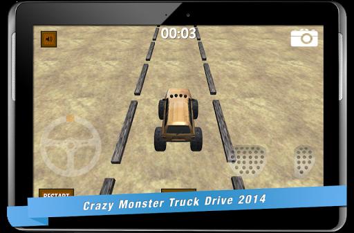 瘋狂的怪物卡車驅動器